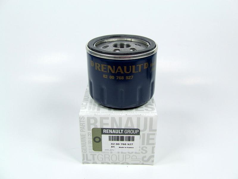 Oil Filter Renaultdacia 927 Oryginal Renault Filters Service