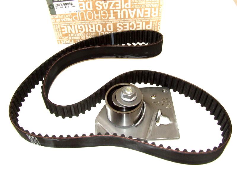timing belt kit laguna,trafic,master 1 9 dci original 7701477048 - timing  and belts - moto-dynamic