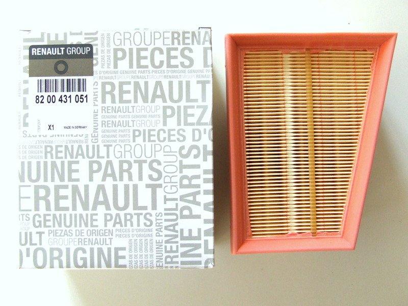 GENUINE RENAULT SCENIC MEGANE AIR FILTER 8200431051