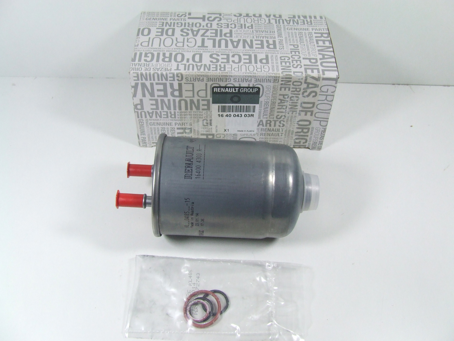 Fuel Filter Renault Megane Iii Scenic 16 20 Dci Original 2015 6 7 Replacement 164004303r Filters Service Moto Dynamic