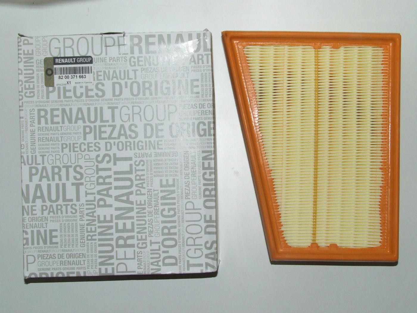 Recambio Original Renault Filtro de Aire Motor 8200371661