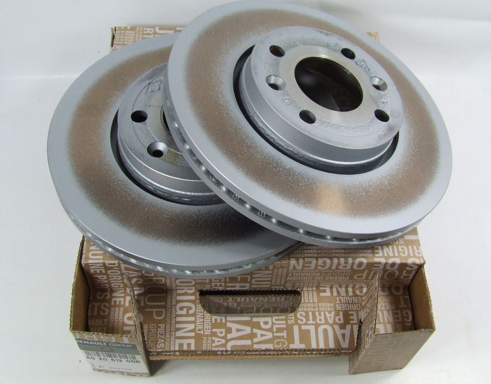 Genuine Renault Captur Front Brake Discs And Pads 0.9 1.2 1.5 Dci Tce