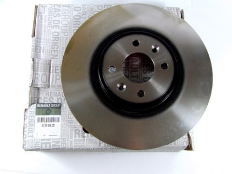 RENAULT MEGANE SCENIC CLIO BRAKE DISCS FRONT  280MM