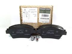 K9K Renault Modus 1.5 dCi Front /& Rear Brake Pads Discs 260mm 240mm 65 09//04